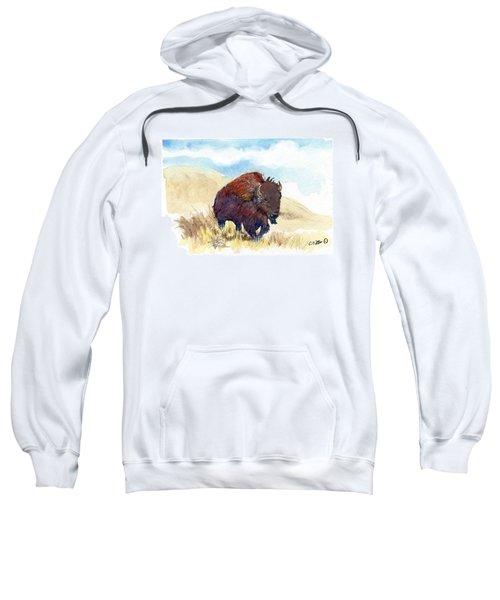 Running Buffalo Sweatshirt