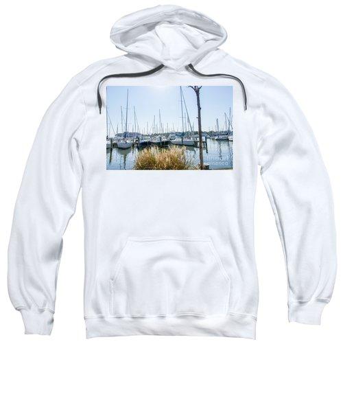Sailboats On Back Creek Sweatshirt