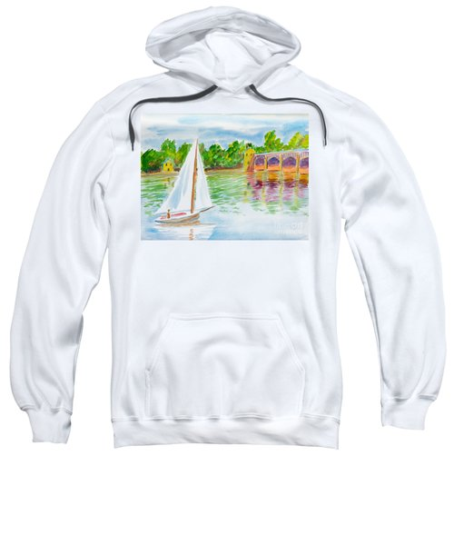 Sailing By The Bridge Sweatshirt