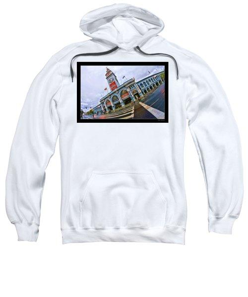 San Francisco Ferry Building Giants Decorations. Sweatshirt