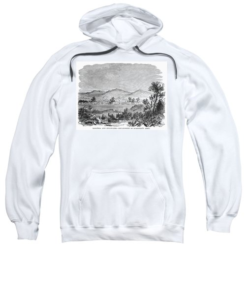 Saratoga: Encampment, 1777 Sweatshirt