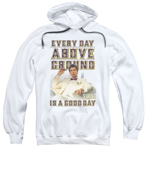 Scarface - Above Ground Sweatshirt by Brand A