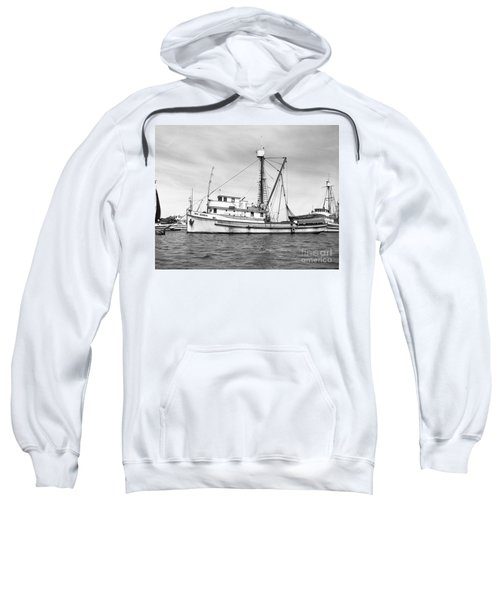 Purse Seiner Sea Queen Monterey Harbor California Fishing Boat Purse Seiner Sweatshirt