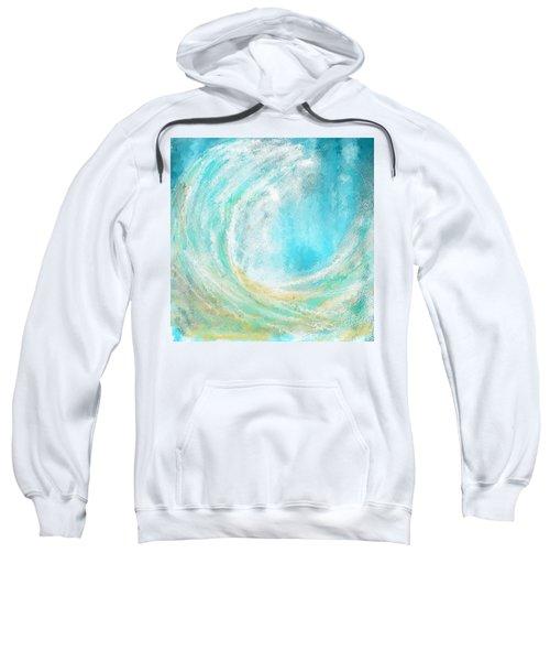 Seascapes Abstract Art - Mesmerized Sweatshirt