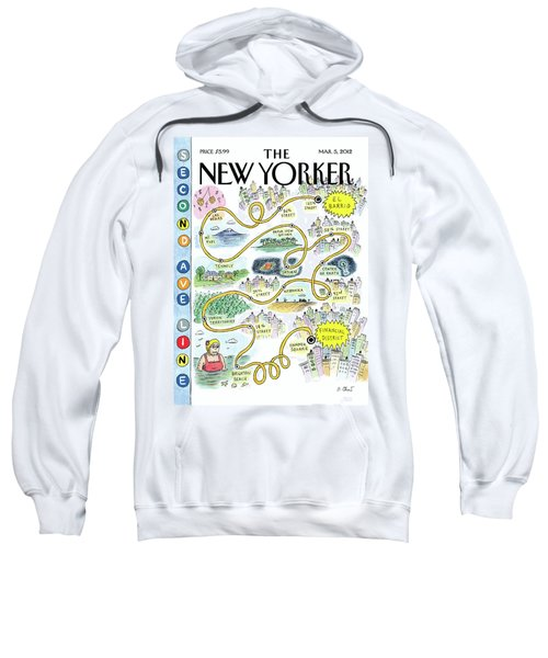 Second Avenue Line Sweatshirt