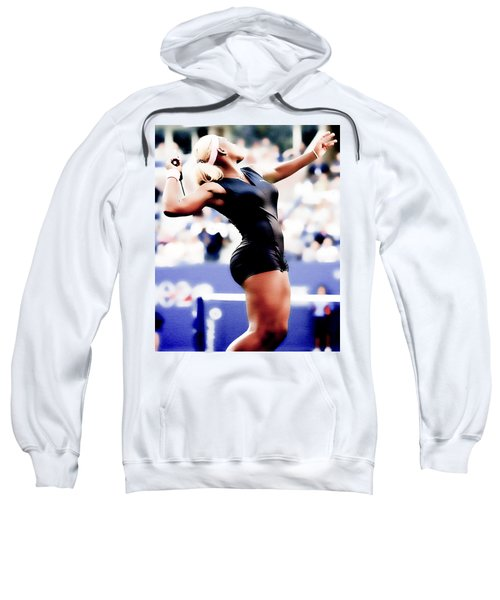 Serena Williams Catsuit Sweatshirt by Brian Reaves