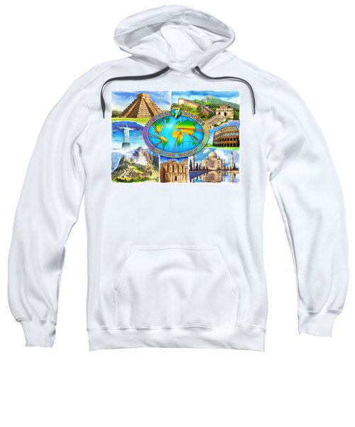Seven Wonders Of The World Sweatshirt