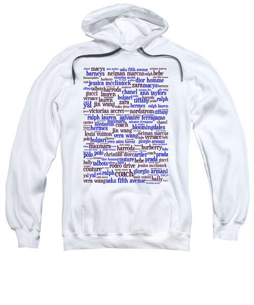 Shop Until You Drop 20130622whi Vertical Sweatshirt