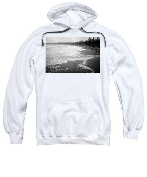 Winter At Wickaninnish Beach Sweatshirt