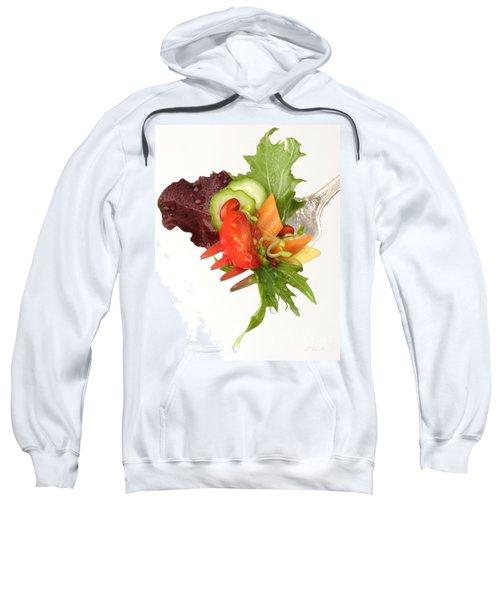 Silver Salad Fork Sweatshirt