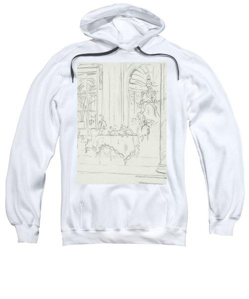 Sketch Of A Formal Dining Room Sweatshirt