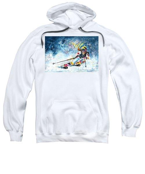 Skiing 03 Sweatshirt
