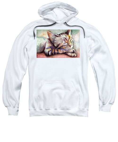 Sleeping Kitten Sweatshirt