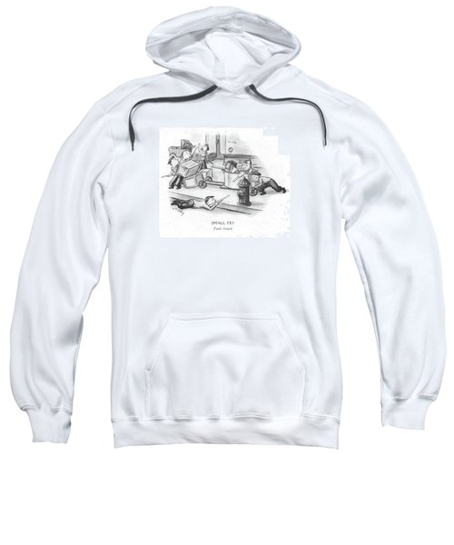 Small Fry Tank Attack Sweatshirt