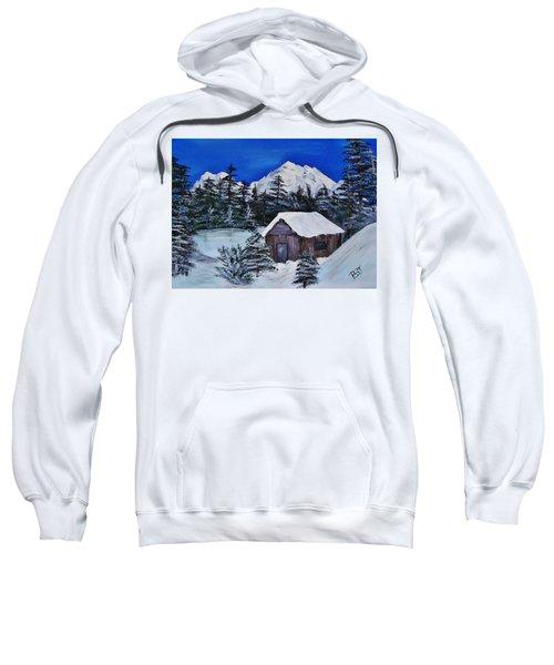 Snow Falling On Cedars Sweatshirt