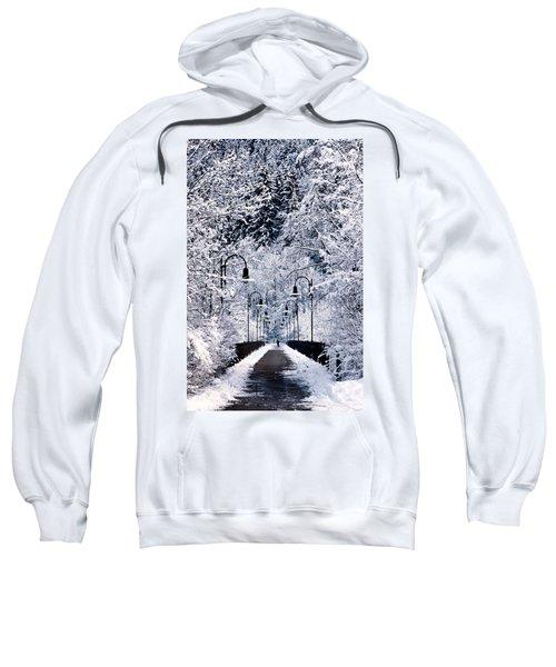 Snowy Bridge Sweatshirt