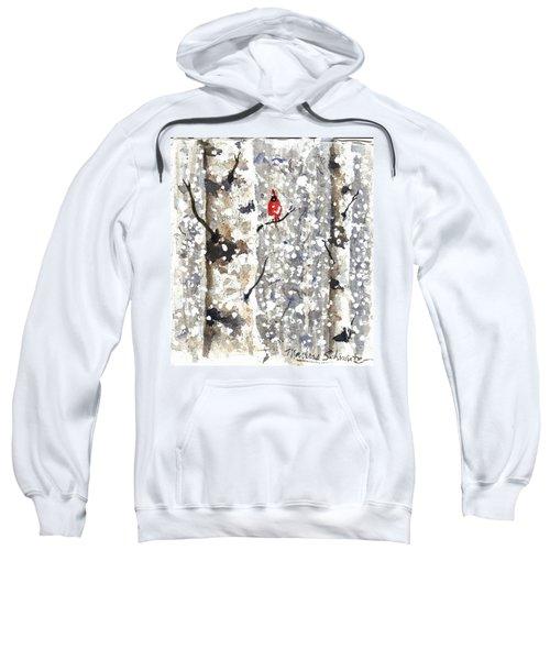 Snowy Hello Sweatshirt