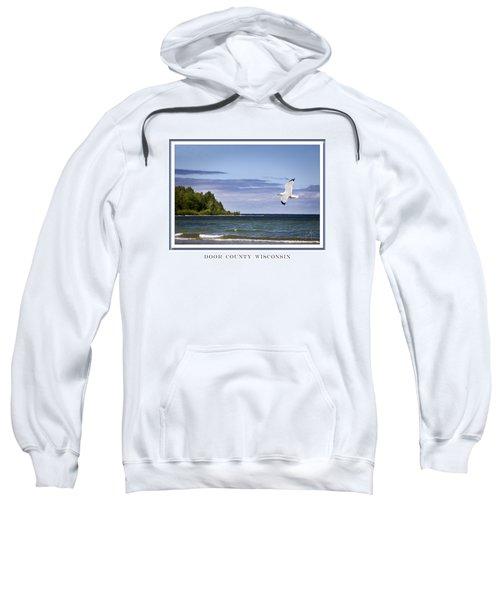 Soaring Over Door County Sweatshirt