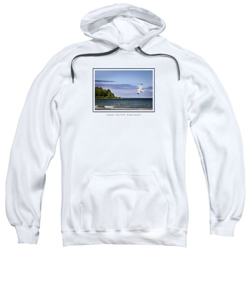 Soaring Over Door County Sweatshirt