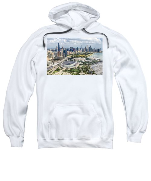 Soldier Field And Chicago Skyline Sweatshirt
