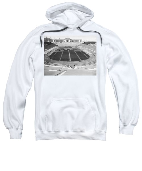 Soldier's Field Boxing Match Sweatshirt by Underwood Archives