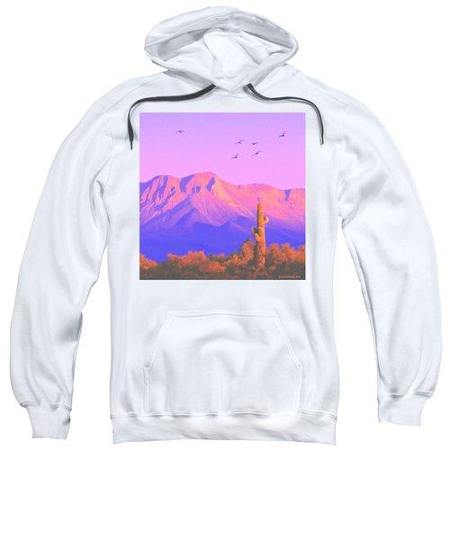 Solitary Silent Sentinel Sweatshirt