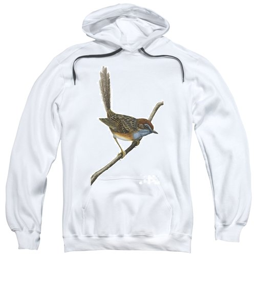 Southern Emu Wren Sweatshirt by Anonymous
