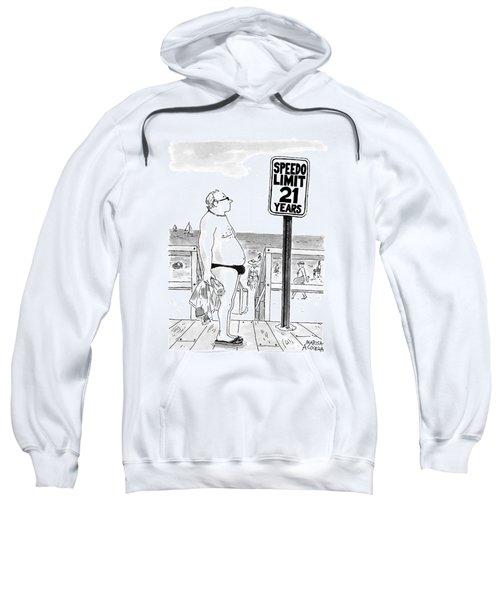 Speedo Limit  21 Years Sweatshirt