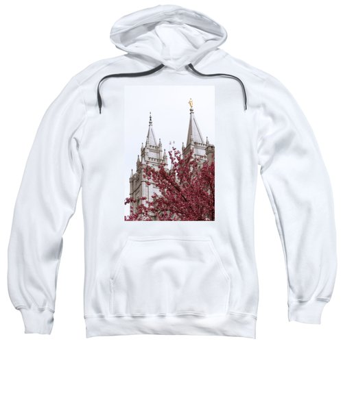 Spring At The Temple Sweatshirt