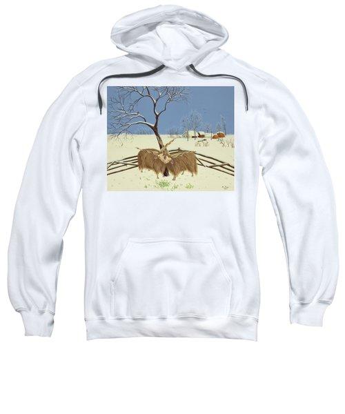 Spring In Winter Sweatshirt