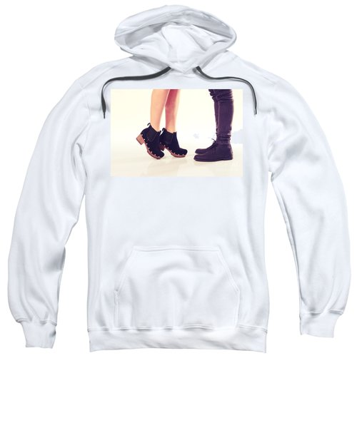 Stand On Toes To Kiss Sweatshirt