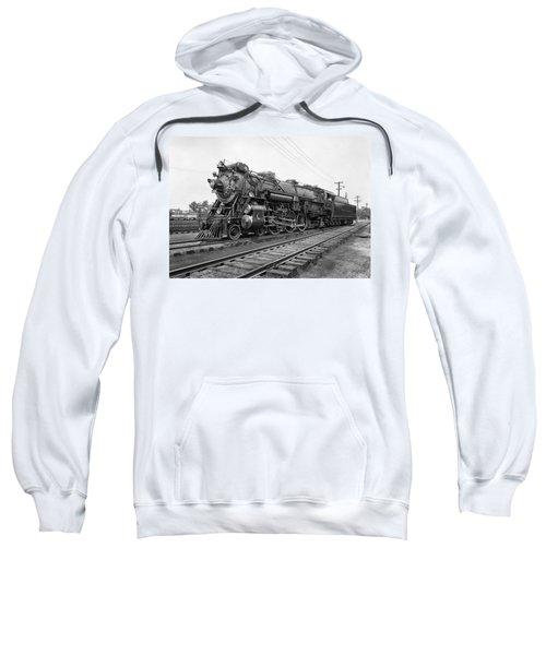 Steam Locomotive Crescent Limited C. 1927 Sweatshirt by Daniel Hagerman