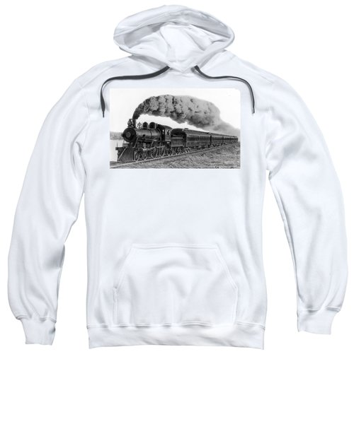 Steam Locomotive No. 999 - C. 1893 Sweatshirt
