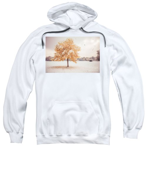 Still Dressed In Fall Sweatshirt