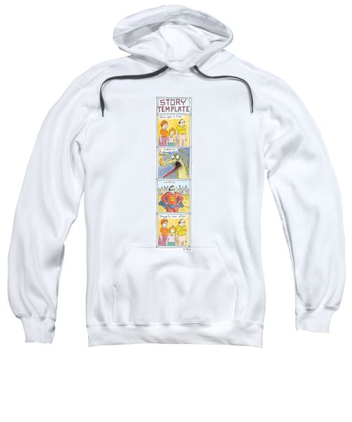 Story Template Sweatshirt