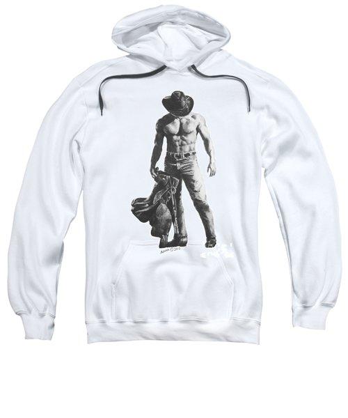 Strength Of A Cowboy Sweatshirt