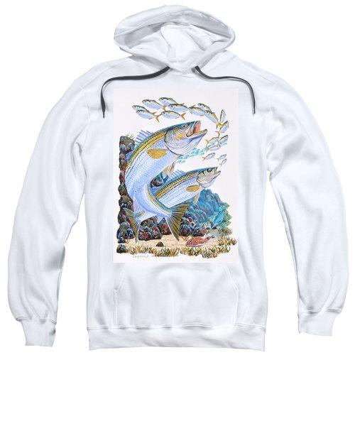 Striped Bass Rocks Sweatshirt