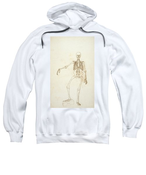 Study Of The Human Figure, Anterior View, From A Comparative Anatomical Exposition Of The Structure Sweatshirt