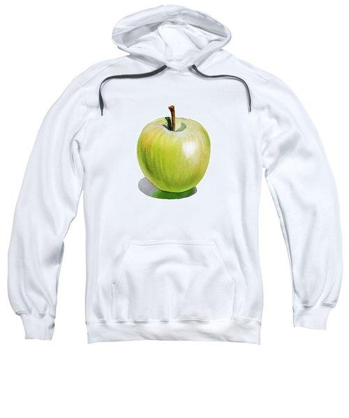 Sun Kissed Green Apple Sweatshirt by Irina Sztukowski