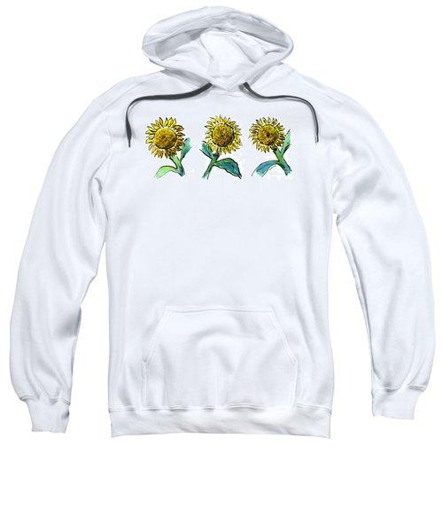 Sunflowers Trio Sweatshirt