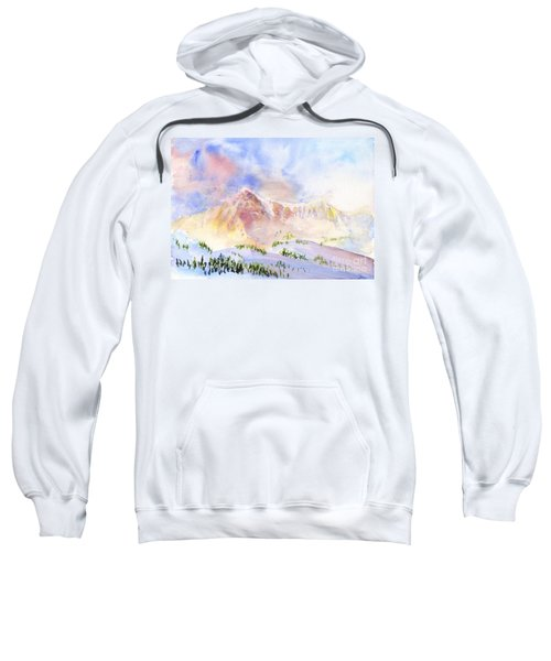 Sunrise On Mount Ogden Sweatshirt