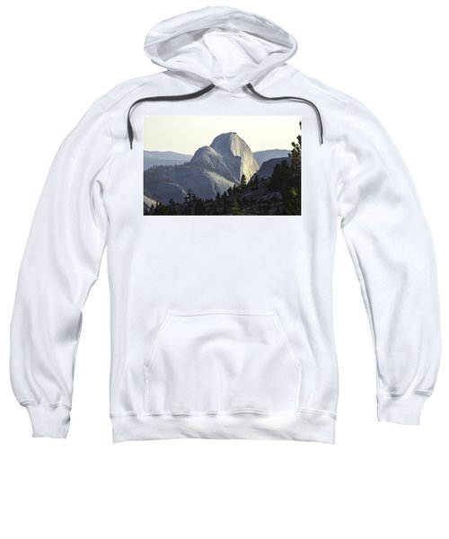 Sunset At Half Dome From Olmsted Pt Sweatshirt