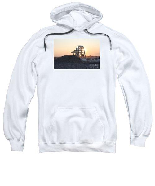 Sunset At Jones Beach Sweatshirt