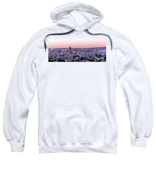 Sunset Cityscape Sweatshirt
