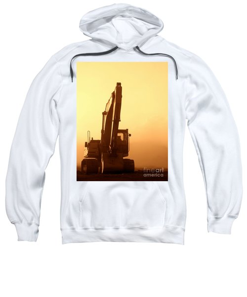 Sunset Excavator Sweatshirt
