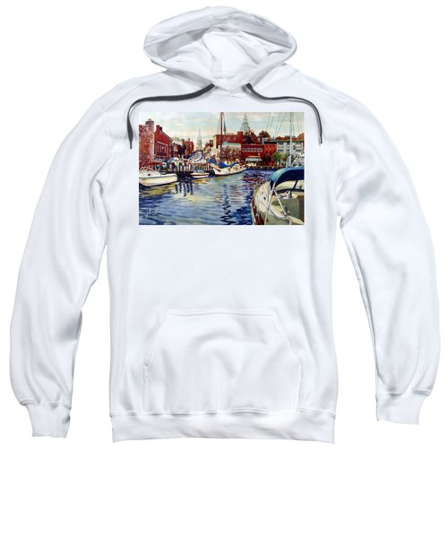 Sunset On The Harbor Sweatshirt