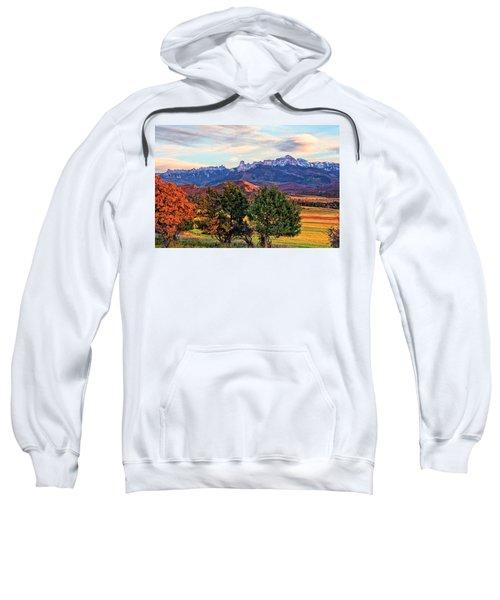 Sunset Over Owl Creek Pass Sweatshirt