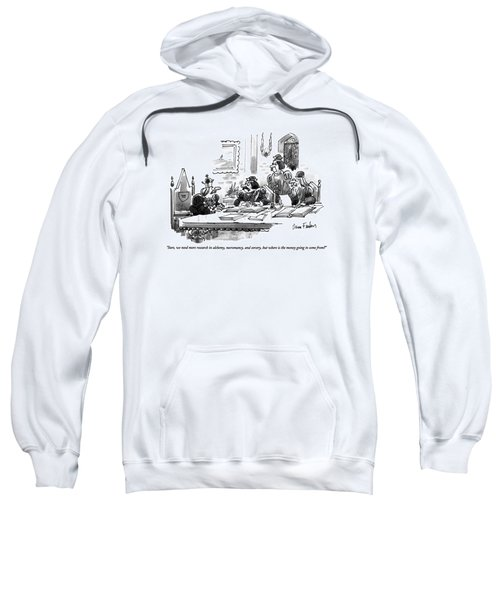 Sure, We Need More Research In Alchemy Sweatshirt
