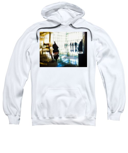 Sweatshirt featuring the photograph Suspended In Light by Alex Lapidus