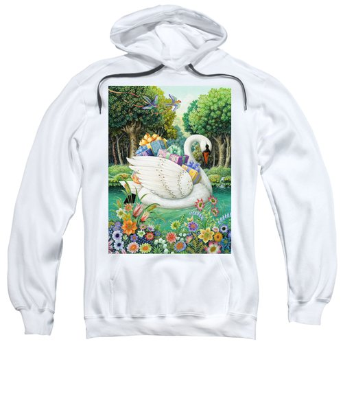 Swan Boat Sweatshirt